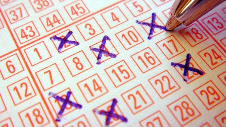 Крестики в лотерейном билете