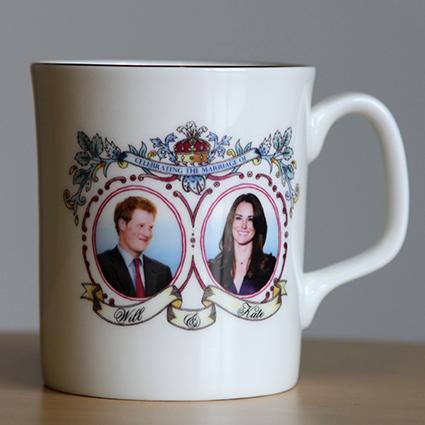 Кружка с изображением принца Гарри и герцогини Кейт Миддлтон