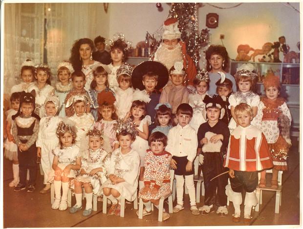 Утренник в советском детском саду