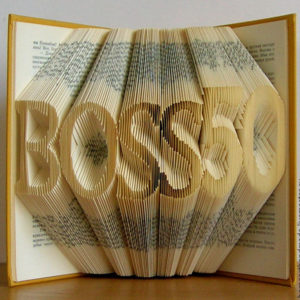 Книга с фигурными страницами