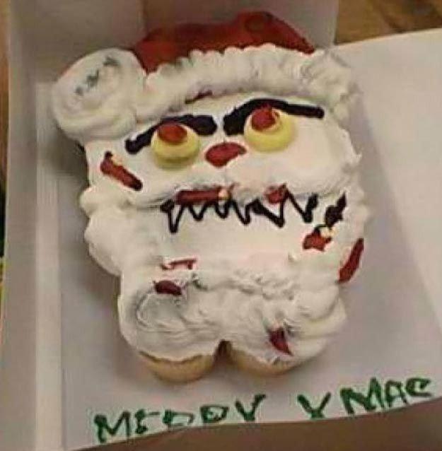 """Торт """"Дед Мороз"""" ожидание и реальность"""