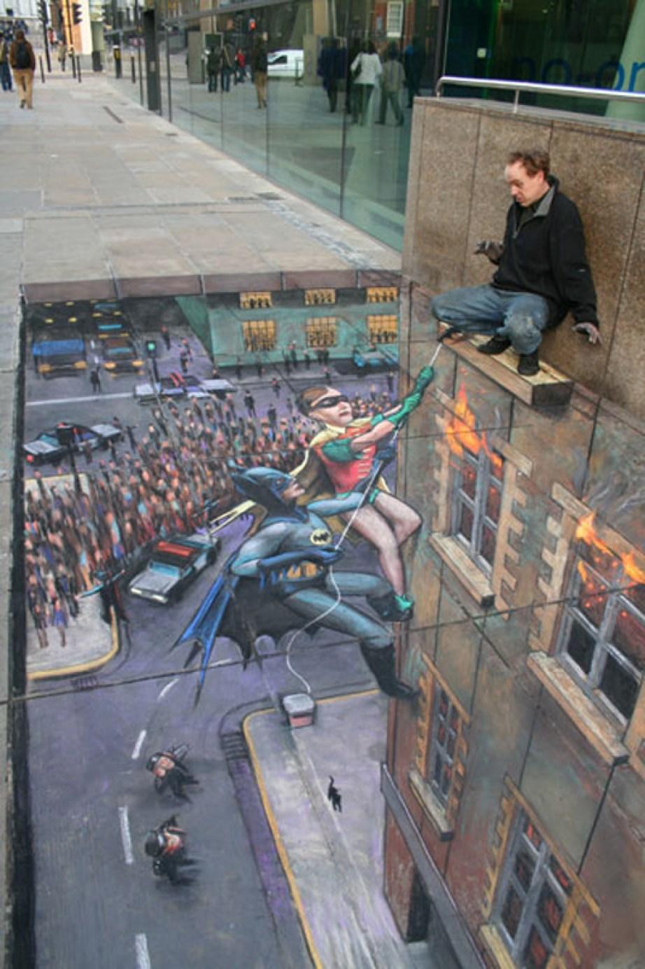 3D-эффект в городе
