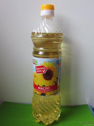 "Масло подсолнечное ""Красная цена"""