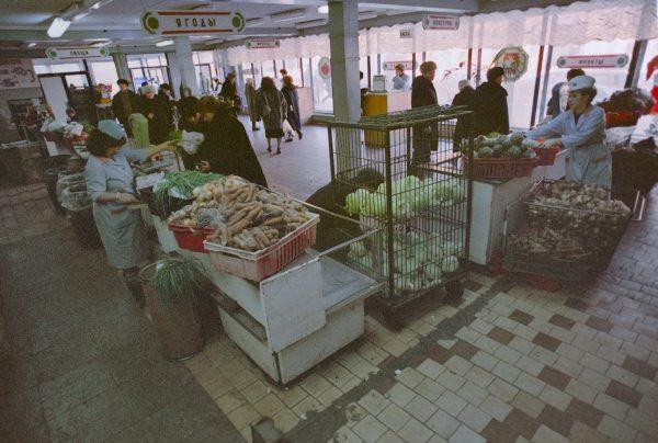 Овощной магазин в СССР