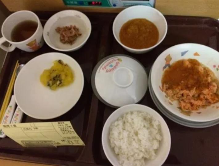 Обед в японской больнице