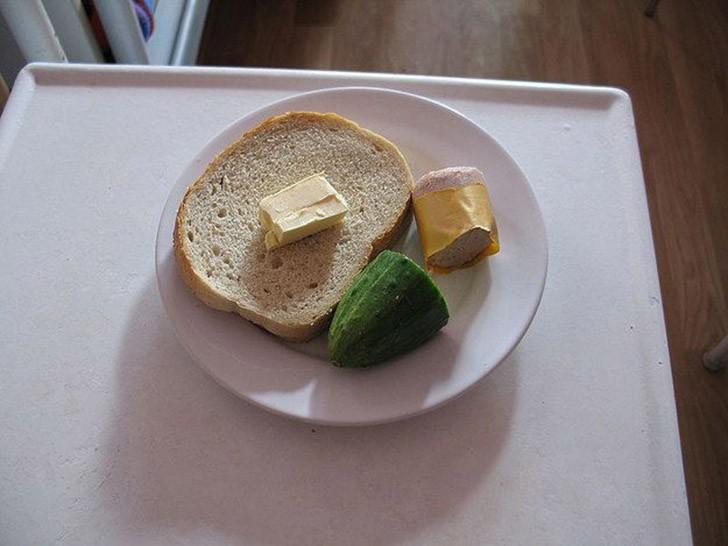 Обед в польской больнице