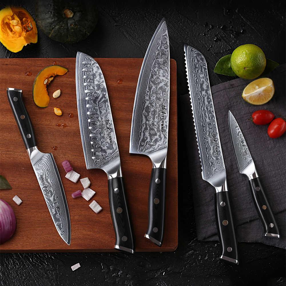 Ножи из дамасской стали