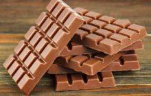 Плитки молочного шоколада