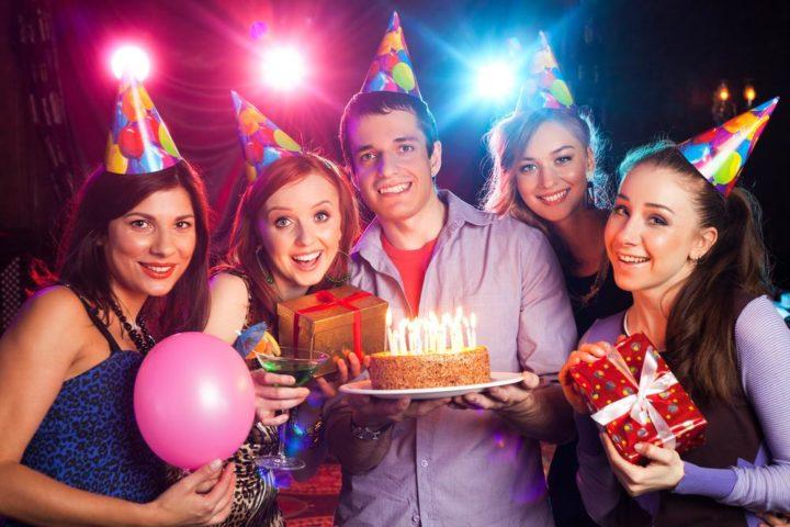 День рождения у взрослых