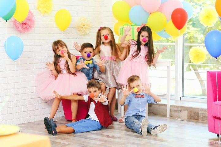 День рождения у детей
