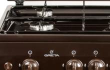 Как выбрать газовую плиту Greta: рейтинг лучших моделей
