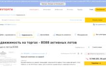 Агрегатор торгов по банкротству Rutorg